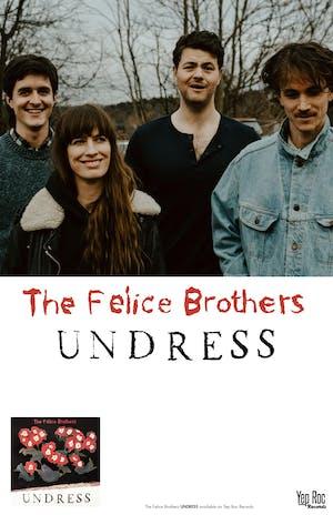The Felice Brothers / Diana DeMuth / Jivviden