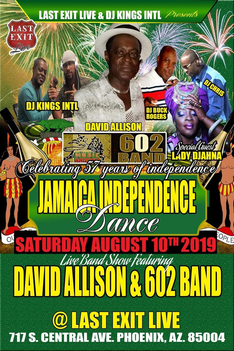 Jamaican Independence Dance