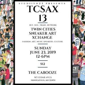 Tcsax13: Twin Cities Sneaker Art Xchange 13