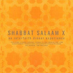 Shabbat Salaam!