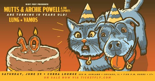 Mutts and Archie Powell & The Exports