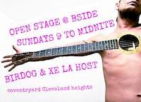 Open Stage Sound System w/ Xela & Bird Dog Every Sunday!