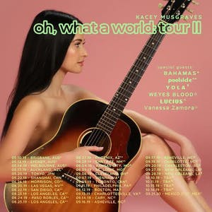 KACEY MUSGRAVES - Oh, What a World: Tour II
