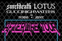 smrtdeath, LIL LOTUS and guccihighwaters