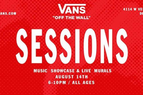 SESSIONS - Music Showcase & Live Murals