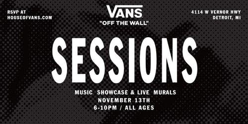 SESSIONS - Music Showcase & Live Murals
