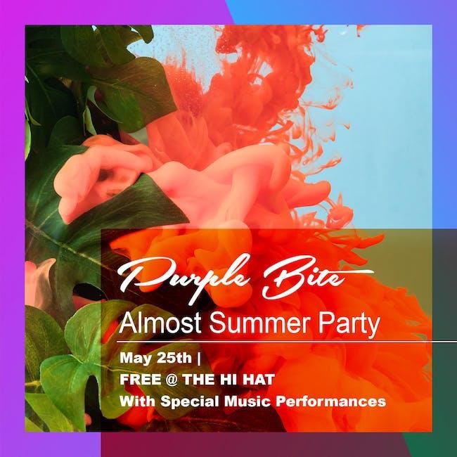 Almost Summer Party ft. Georgi Kay, Molly Moore, DYLLAN, Magic Bronson