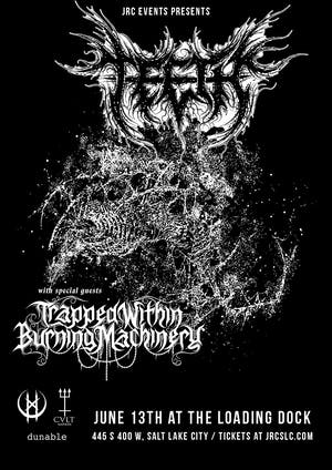 Teeth w/ Trapped Within Burning Machinery