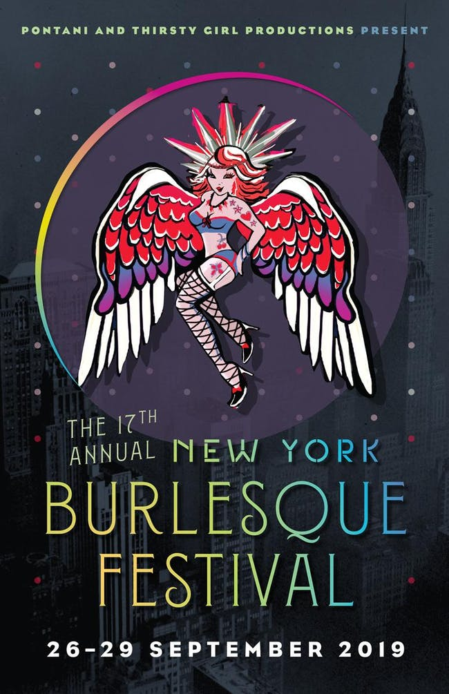 The 17th Annual NY Burlesque Festival