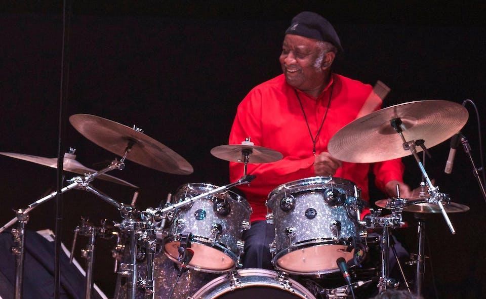 Bernard Purdie Drum Clinic