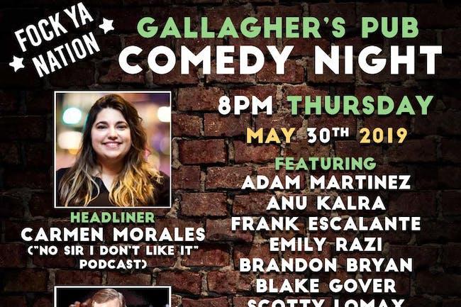Comedy Night Every Thursday!