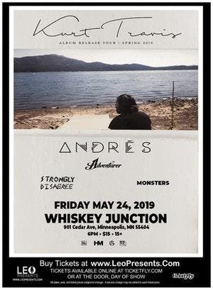 """ Whiskey Junction"" Kurt Travis,  Andrés, Adventurer, Strongly Disagree"