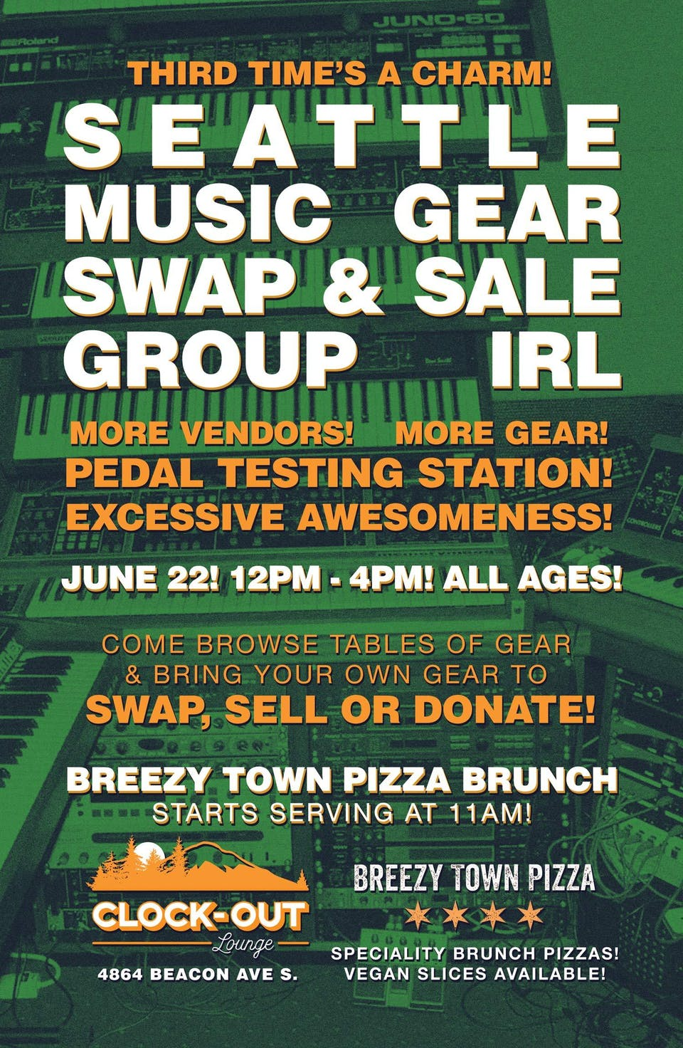 Seattle Music Gear Swap & Sale