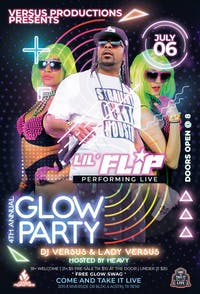 4TH ANNUAL NEON GLOW PARTY