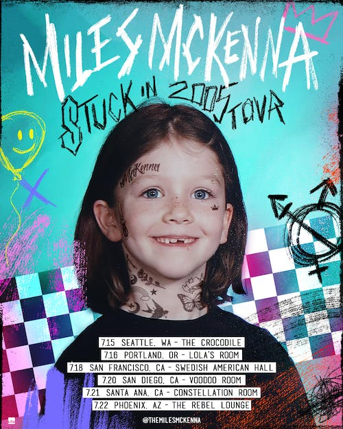 Miles McKenna: Stuck in 2005 Tour