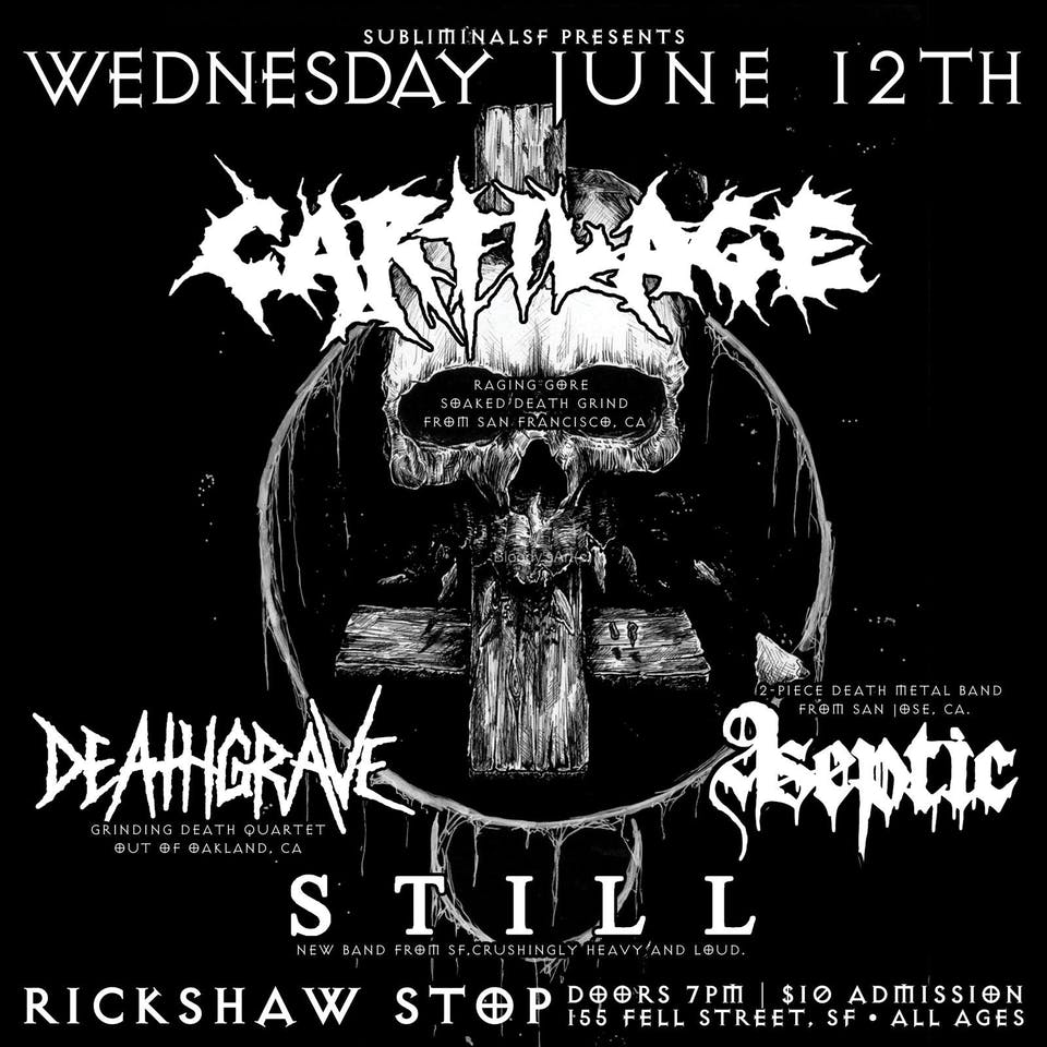 CARTILAGE  with Deathgrave,  Aseptic, and  Still