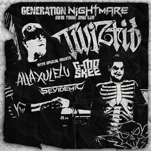 TWIZTID : Generation Nightmare 2019 tour