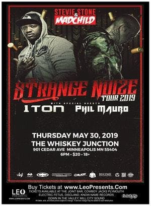 """Whiskey Junction"" STEVIE STONE & MADCHILD - STRANGE NOIZE TOUR"