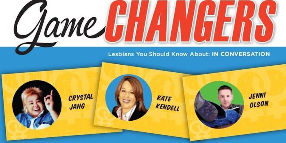 Book Party! Game Changers- Lesbians You Should Know About