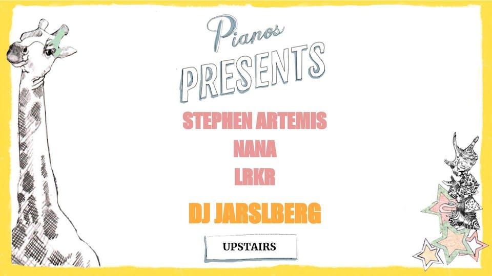 Stephen Artemis, Nana, LRKR Music, DJ Jarslberg