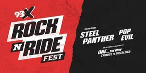93X Rock N' Ride Fest starring Steel Panther and Pop Evil