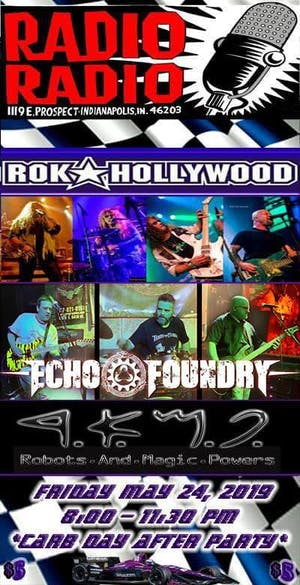 Rok Hollywood with Echo Foundry, Robots & Magic Powers