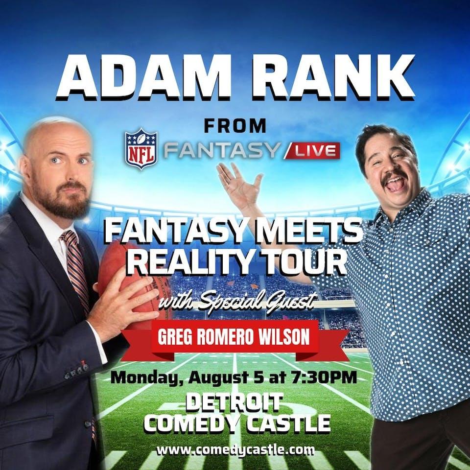 Adam Rank: Fantasy Meets Reality Tour - Special Event