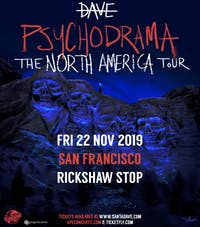 DAVE - Psychodrama: The North American Tour