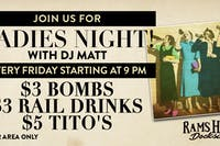 Ladies Night with DJ Matt