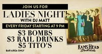 Ladies Night with DJ Matt