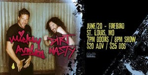 MICKEY AVALON | DIRT NASTY !!!SHOW MOVED TO POPS!!!