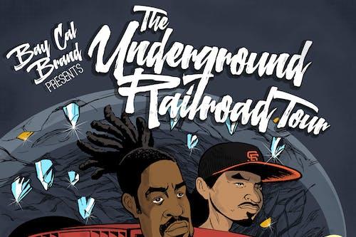 """Zion I - """"The Underground Railroad Tour"""" w/  Thin Air Crew, Sintax"""