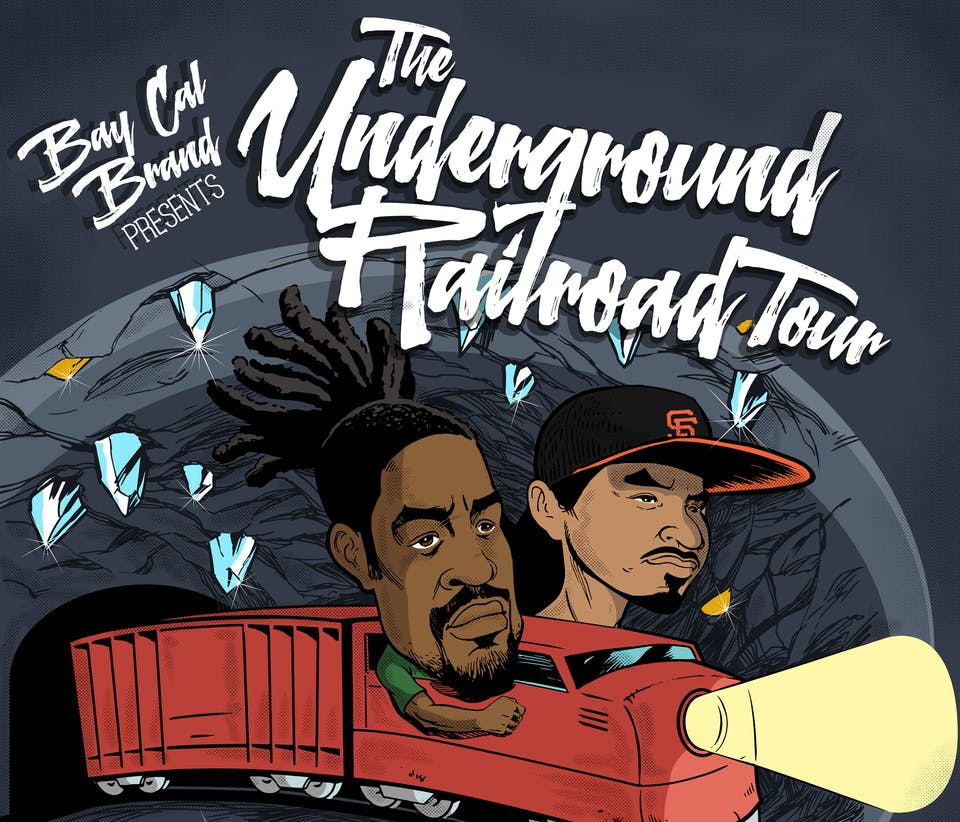 "Zion I - ""The Underground Railroad Tour"""