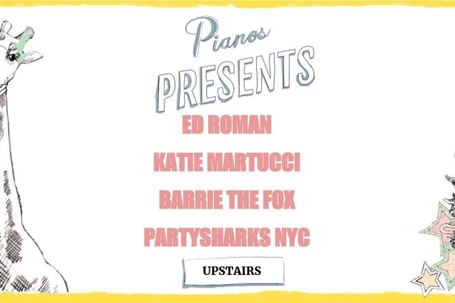 Ed Roman, Katie Martucci, Barrie The Fox, Partysharks NYC (FREE)