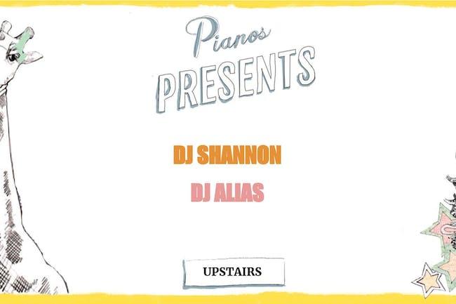DJ Shannon, DJ Alias ($8 after 10pm)