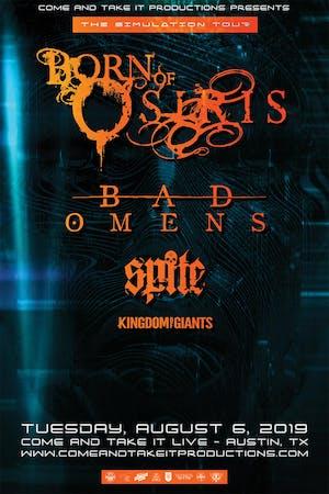 BORN OF OSIRIS - The Simulation Tour