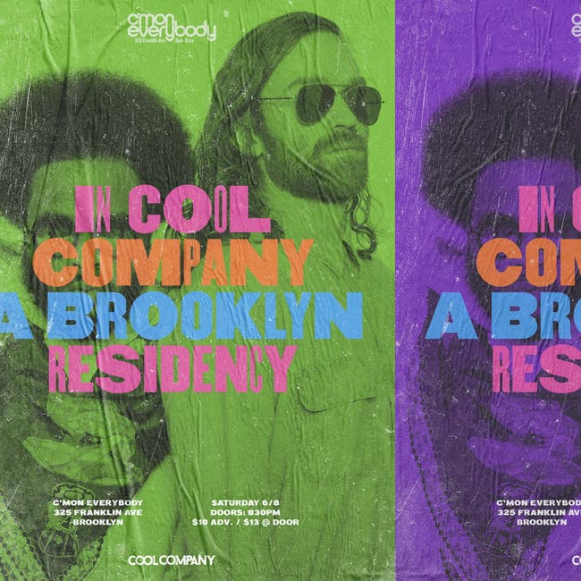 Cool Company *residency* with special guests