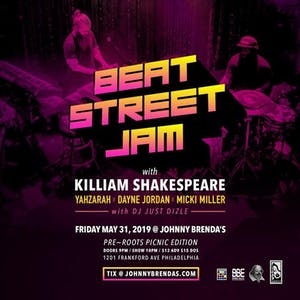 The Beat Street Jam with Killiam Shakespeare