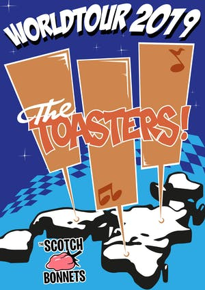 The Toasters w/ Scotch Bonnets, Control This, & Sketchie