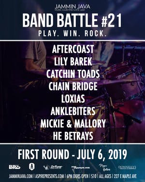 Jammin Java's Mid-Atlantic Band Battle #21 - Night 2