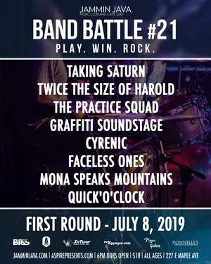 Jammin Java's Mid-Atlantic Band Battle #21 - Night 3