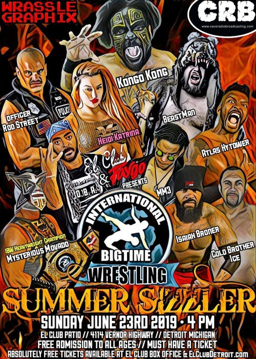International Bigtime Wrestling – Summer Sizzler
