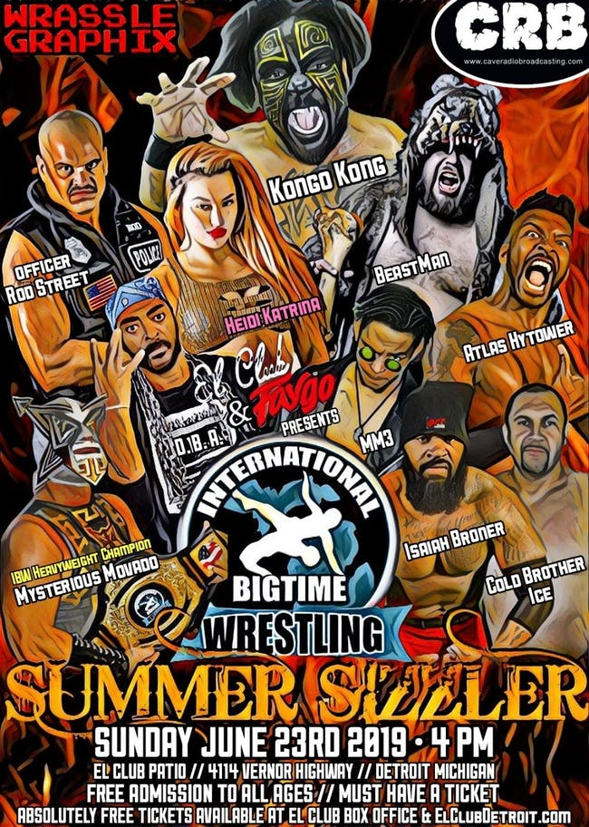 International Bigtime Wrestling – Summer Sizzler