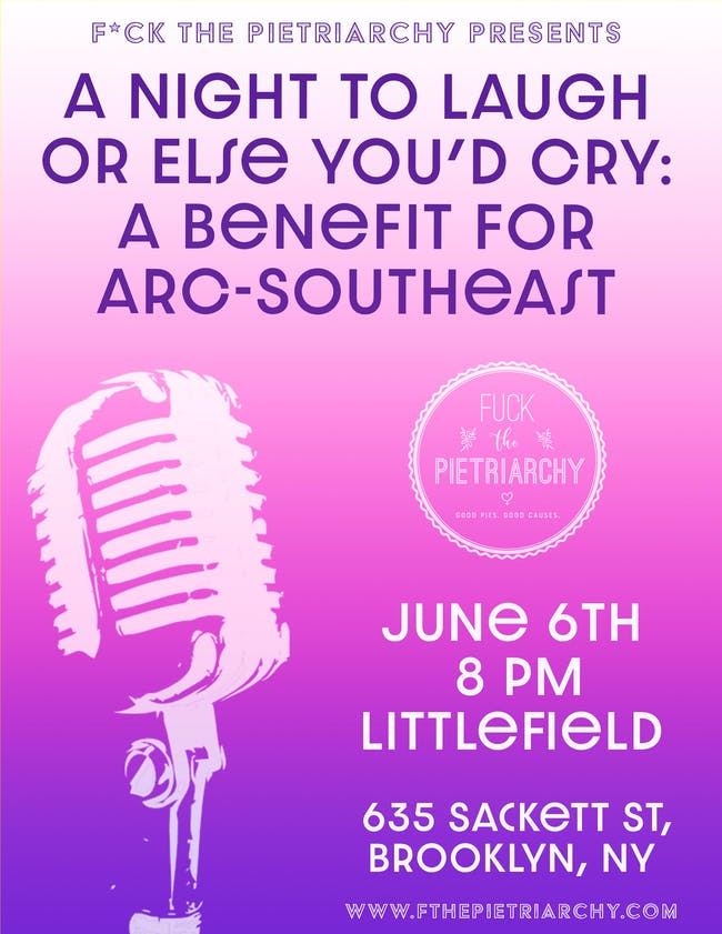 A Night To Laugh Or Else You'd Cry: A Benefit For ARC-Southeast