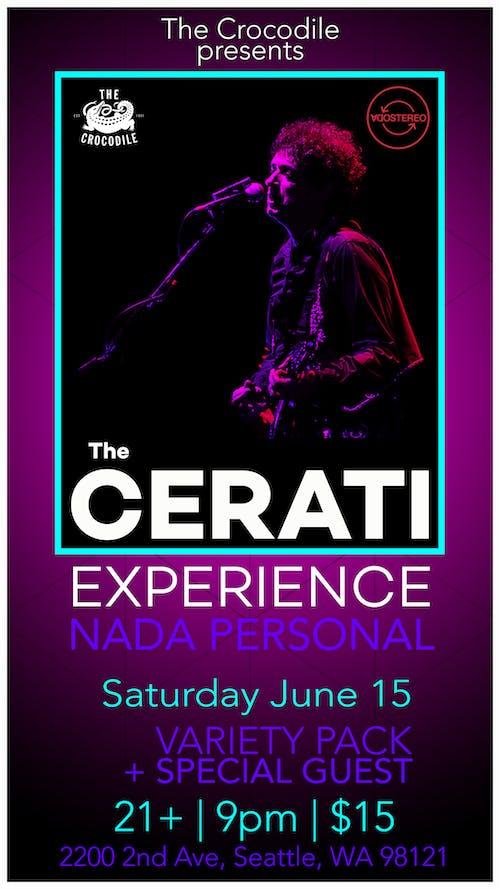 The Cerati Experience feat. NADA PERSONAL (Soda Stereo Tribute)