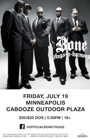 Bone Thugs-N-Harmony Moved Inside to The Cabooze