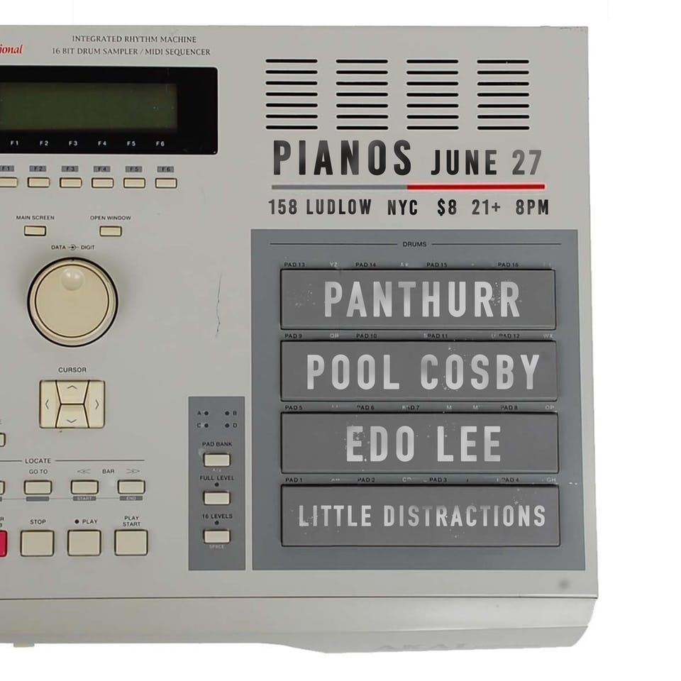 Young Wavy Fox (DJ Set), Panthurr, Pool Cosby, Edo Lee, Little Distractions