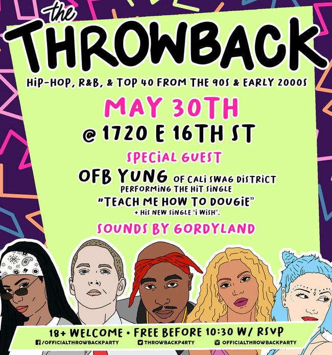 The Throwback Party at 1720