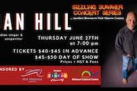 Sizzling Summer Series: Dan Hill