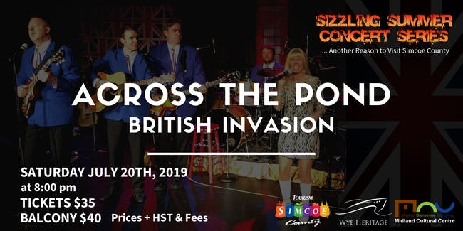 Sizzling Summer Series: Across the Pond - British Invasion